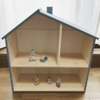 Wooden Doll House Systems (from Australia) Grey Blue