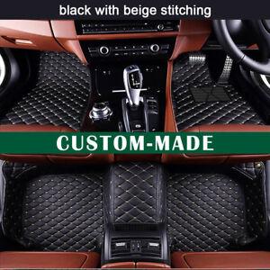 Car Floor Mats for Jaguar XF Sedan 2008-2015 Custom-Fit All Weather Car Mats