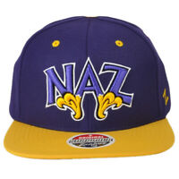 NCAA Zephyr Nazareth College Golden Flyers Athletics Flat Bill Snapback Hat Cap