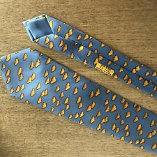 HERMES Paris Silk Tie 7333EA Clouds