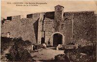 CPA   Cannes - Ile Sainte-Marguerite - Entrée de la Citadelle     (513532)