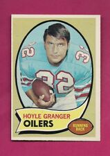 1970 TOPPS # 155 OILERS HOYLE GRANGER ROOKIE NRMT-MT CARD (INV# A4742)