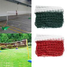 Red/Green Height Badminton Volleyball Tennis Beach Net Set Indoor Outdoor Games