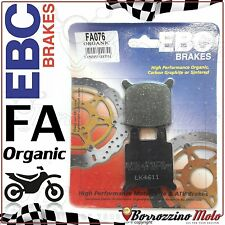 PASTIGLIE FRENO ANTERIORE ORGANICHE EBC FA076 MOTO MORINI BICILINDRO 250 1979 -