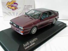 """Minichamps 430019429 # Audi Quattro año de construcción 1980 en """"Saturn metalizado"""" 1:43"""