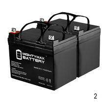 Mighty Max 2 Pack - ML35-12 - 12V 35AH Invacare Pronto M41 Wheelchair Battery Re