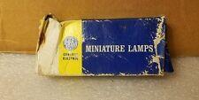 Box of 4 GE General Electric PR-2 PR2 Miniature Flashlight Lamps Light Bulbs