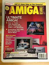 Commodore Amiga Magazine Lot Ex Cond Compute's Amiga/Amazing Computing Amiga