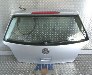 Heckklappe silber LA7W komplett VW Polo 9N 2005 >