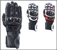 Oxford RP-2R Men's Leather Sports Racing Motorcycle Motorbike Leather Gloves