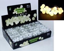 20er LED Lichterkette Party 20 Leds Kugeln 1,8cm Beleuchtung Partybeleuchtung