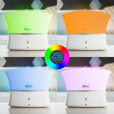 Halter Color Changing LED Desk Lamp Touch Sensor & Remote Control (Neutral Grey)