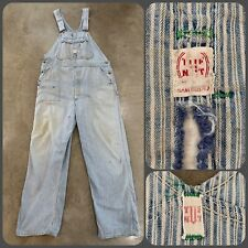 """Vintage USA 1970/'s Smith/'s Boys Coverall Blue Jeans Size 16 26/"""" W X 33/"""" L New"""
