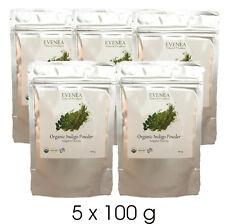 100g Premium Quality Pure Certified Organic Indigo Leaf Powder India