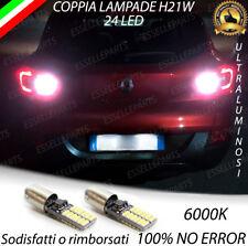 LAMPADE RETROMARCIA 24 LED H21W CANBUS PER RENAULT KADJAR 6000K NO ERROR