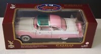 Road Legends 1955 Ford Fairline Crown Victoria 1:18 Pink/WHITE
