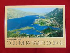 Original Columbia River Gorge From Rowena Point, Oregon Uncirculated Postcard
