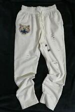 Tiger Patch Distressed Cotton Jogger Pants