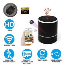 1080P Mini Wifi HD SPY Hidden Camera Bluetooth Speaker Video Recorder Nanny Cam