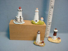 Dollhouse Miniature Lighthouses (set of 4) #T8484