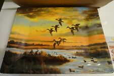 Evening Skies Platter by Brett Smith Sporting Art Collection NIB