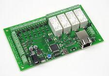 dScript3484 - 4 x 16A Ethernet Relais