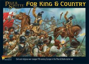 PIKE & SHOTTE ~ FOR KING & COUNTRY ~ STARTER SET ~ NEW ~ UNOPENED