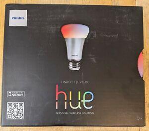 Hue Personal Wireless Lighting- 3 Bulbs and Hub-Philips, 2012 - NEW 426353