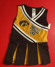 IOWA HAWKEYES Cheerleader Outfit Baby 12 Month NCAA College Football Basketball
