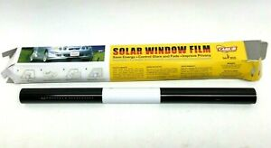 """Black Tint 20""""x20' PROLINE WINDOW FILM Car Window Tint"""