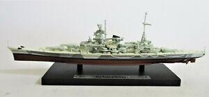 Scharnhorst Boxed Atlas Editions Die-Cast WW2 Warship