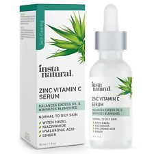 Vitamin C Face Serum W/Niacinamide & Zinc-Anti Aging/Wrinkle Skin Care FREE SHIP