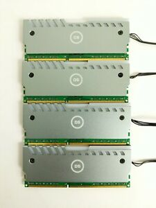 Ships Today☑️ AvaRum 4X8GB (32GB) DDR3 DDR3L 1600MHZ 12800 Memory + RGB Heatsink