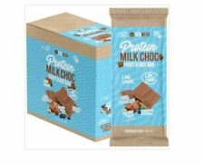 12 x 100g VITAWERX Protein Milk Chocolate Bar Fruit & Nut  - 12x100g