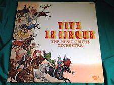 Original 1960's French Circus LP : Vive Le Cirque ~ Music Circus Orchestra
