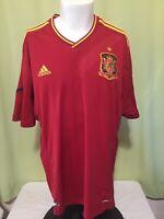 Adidas Campeones De Europa 1964 2008 Men's Red Futbol Soccer Jersey Size 2XL