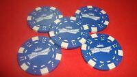 #5 BUDWEISER Beer Poker Chip Bow tie CROWN design Golf Ball Marker-Card Guard  b
