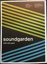 "Sound Garden,Jodie Foster's Army. 2 Sided Punk /Rock Mini Poster Art 14x10"",R163"