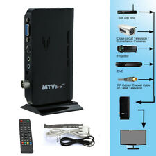 Digital TV Tuner Set Top Box Auto Receiver Antenna Mobile RF PAL/NTSC AV IN