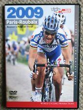 2009 Paris - Roubaix World Cycling Productions 2 Dvd set Very Clean Tom Boonen