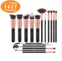 17 pc Professional Cosmetic Makeup Brush Set Eyeshadow Foundation Brushes