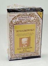 Spanish Tchaikowsky Cassette Tape Case UnOpened Los Tesoros de la Musica Clasica