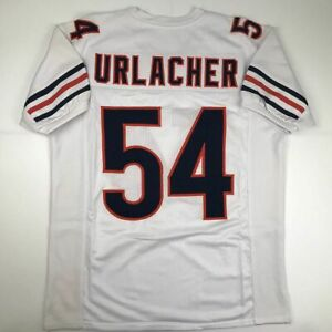 New BRIAN URLACHER Chicago White Custom Stitched Football Jersey Size Men's XL