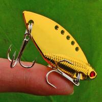 "1pc Fishing Lure 5cm-2""/9.4g-0.33oz Spoon Metal Lure Top Bass Fishing Tackle"