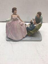 "Euc ""Sweet Sixteen"" Norman Rockwell Figurine The American Family 1979"