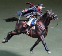 █ 1/35 Resin Russian Cavalry Officer on Horse Unpainted BL084