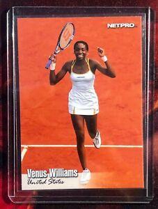 VENUS WILLIAMS 2003 Netpro Tennis ROOKIE Card RARE SP #2 MINT U.S.A. RC 🔥