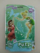 Disney Fairies Puzzle on the Go 100 Pieces, New, Free Ship