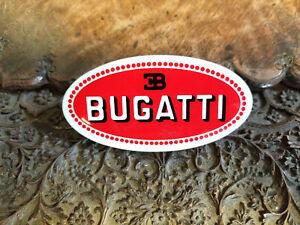 Bugatti Radiator Emblem Medallion Flat Mounted