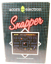 Acorn Electron Cassette Game -- SNAPPER -- BOXED